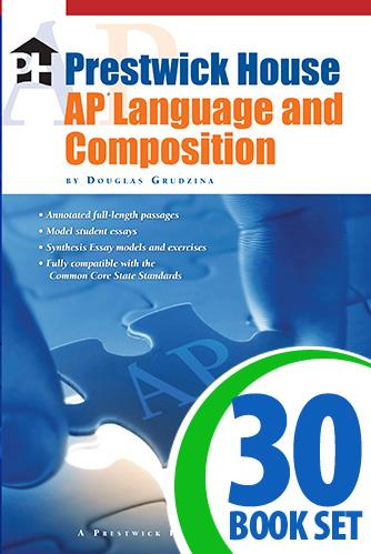 Prestwick House AP Language and Composition - 30 Book Class Set