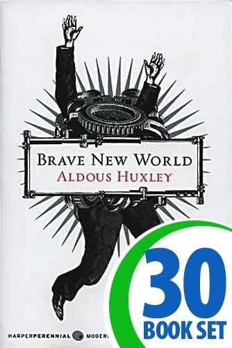 Brave New World - 30 Books and Response Journal