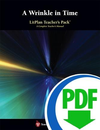 Wrinkle in Time, A: LitPlan Teacher Pack - Downloadable