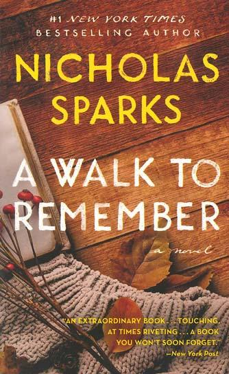 walk to remember essay Analysis of a walk to remember i author introduction/ writing style: the author of a walk to remember is nicholas sparks he was born on december 31,1965 according to wikipedia he is an internationally best selling american author.