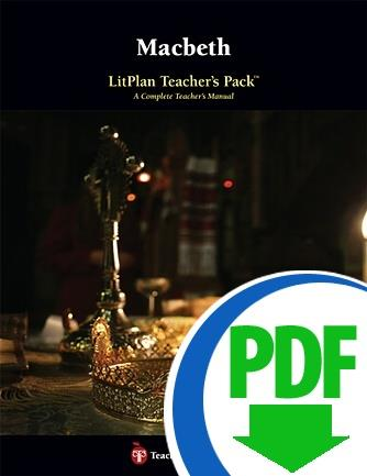 Macbeth: LitPlan Teacher Pack - Downloadable