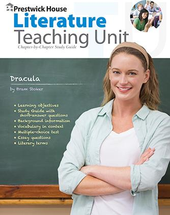 dracula teaching unit prestwick house rh prestwickhouse com