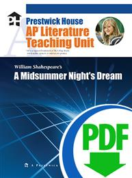 Midsummer Night's Dream, A - Downloadable AP Teaching Unit