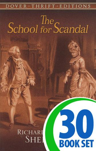 School for Scandal, The - 30 Books and Teaching Unit