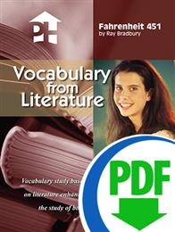 Fahrenheit 451 - Downloadable Vocabulary From Literature
