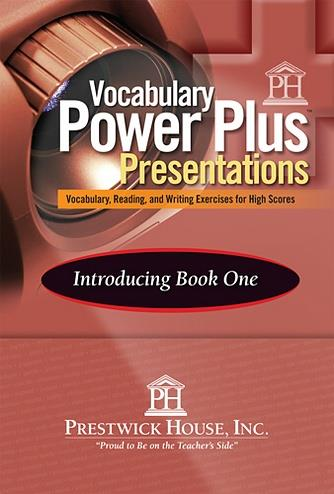 Vocabulary Power Plus Presentations: Introduction - Level 9