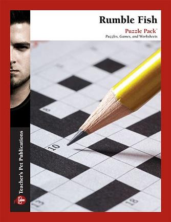 Rumble fish puzzle pack for Rumble fish novel