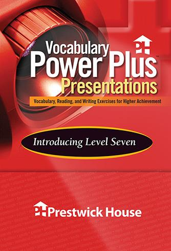 Vocabulary Power Plus Presentations: Introduction - Level 7