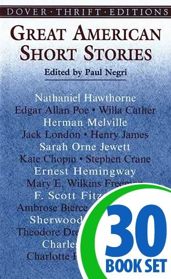 Great American Short Stories - 30 Books and Response Journal