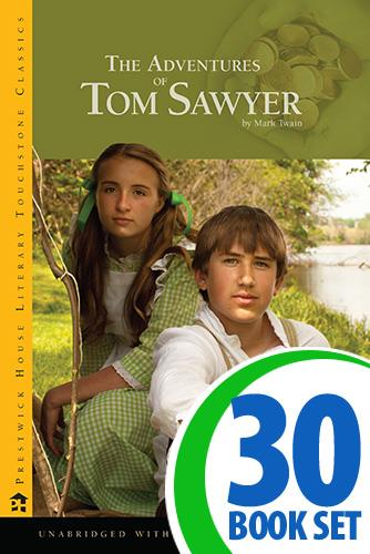 Adventures of Tom Sawyer, The - 30 Books and Activity Pack