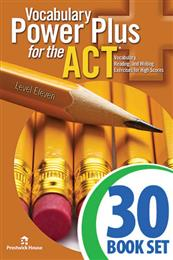Vocabulary Power Plus for the ACT - Level 11 - Complete Package