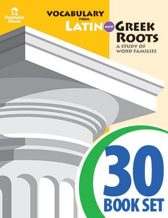 Vocabulary from Latin and Greek Roots - Level X - Class Set