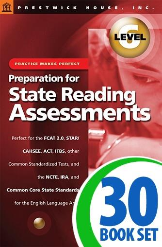 Preparation for State Reading Assessments: Practice Makes Perfect - Level 6