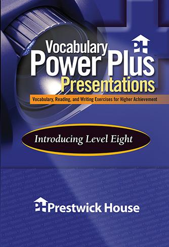 Vocabulary Power Plus Presentations: Introduction - Level 8