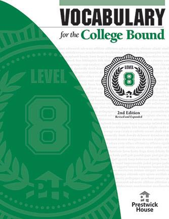 Vocabulary for the College Bound: Level 8