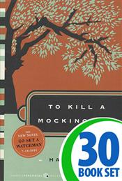 To Kill a Mockingbird - 30 Books and Activity Pack