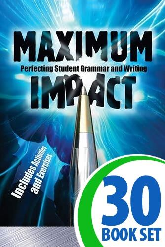 Maximum Impact - 30 Books and Teacher's Edition