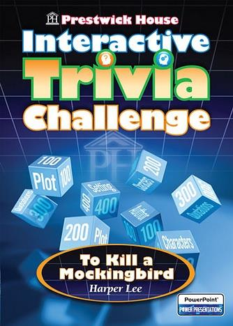 Prestwick House Interactive Trivia Challenge: To Kill A Mockingbird