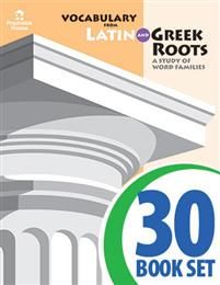 Vocabulary from Latin and Greek Roots - Book II - Complete Set