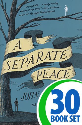 Separate Peace, A - 30 Books and Response Journal