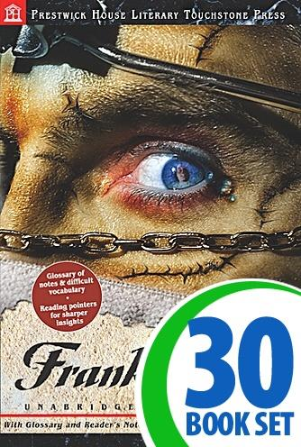 Frankenstein - 30 Hardcover Books and Teaching Unit
