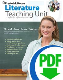 Great American Poems - Downloadable Teaching Unit