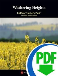 Wuthering Heights: LitPlan Teacher Pack - Downloadable