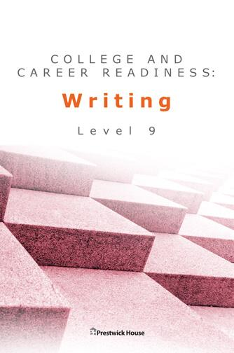 TCollege and Career Readiness: Writing - Level 9