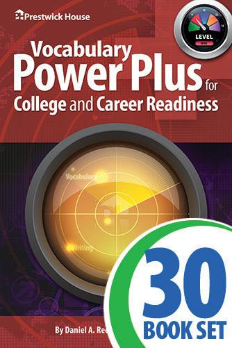 Vocabulary Power Plus for College and Career Readiness - Level 9 - Complete Set