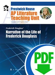 Narrative of the Life of Frederick Douglass - Downloadable AP Teaching Unit