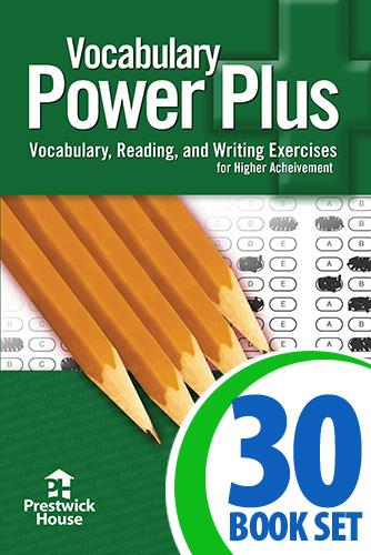 Vocabulary Power Plus - Level 6 - Complete Package