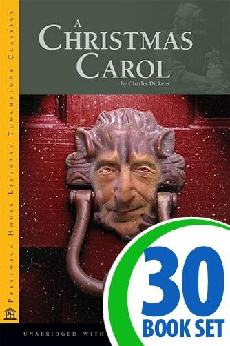 Christmas Carol, A - 30 Books and Teaching Unit