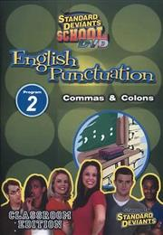 Standard Deviants School English Punctuation 2: Commas and Colons DVD