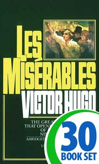 Les Miserables - 30 Books and Teaching Unit