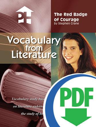 Red Badge of Courage, The - Downloadable Vocabulary From Literature