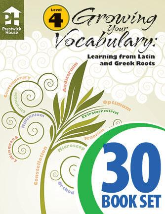 Growing Your Vocabulary: Learning from Latin and Greek Roots - Level 4