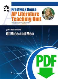 Of Mice and Men - Downloadable AP Teaching Unit