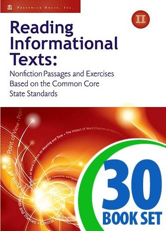 Reading Informational Texts - Book II - Complete Package
