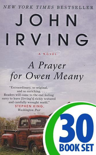 Prayer for Owen Meany, A - 30 Books and Response Journal