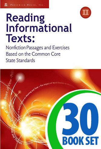 Reading Informational Texts - Book II - 30 Books and Teacher's Edition