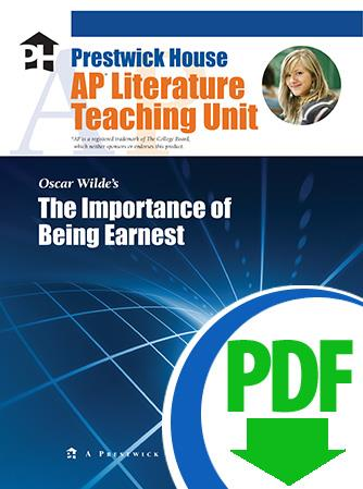 Importance of Being Earnest, The - Downloadable AP Teaching Unit