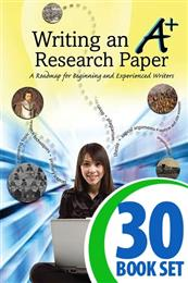 Writing an A+ Research Paper - 30 Books and Teacher's Edition