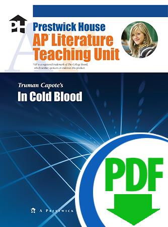 In Cold Blood - Downloadable AP Teaching Unit