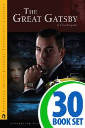 Great Gatsby, The - 30 Hardcover Books and Teaching Unit