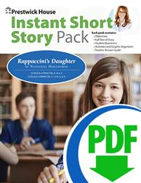 Rappaccini's Daughter - Instant Short Story Pack