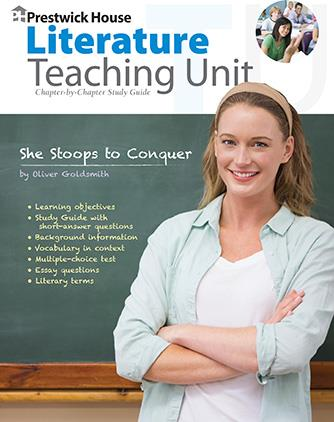 She Stoops to Conquer - Teaching Unit