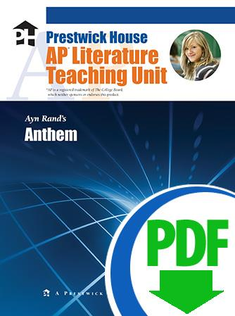 Anthem - Downloadable AP Teaching Unit