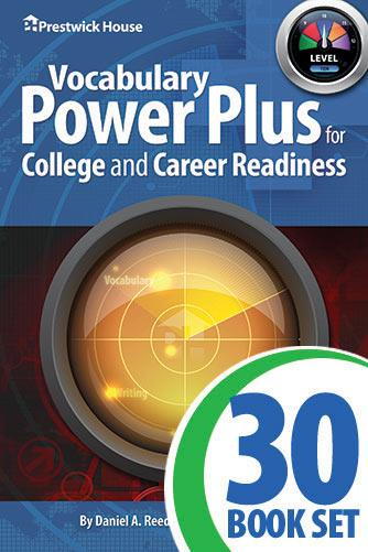 Vocabulary Power Plus for College and Career Readiness - Level 10 - Complete Set