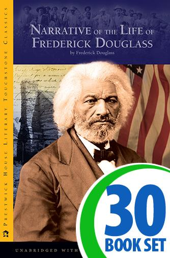 Narrative of the Life of Frederick Douglass - 30 Books and Activity Pack