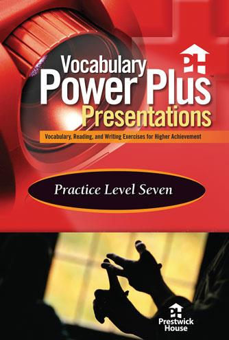 Vocabulary Power Plus Presentations: Practice - Level 7